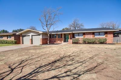 Lubbock Single Family Home For Sale: 2504 54th Street