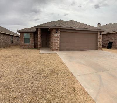 Lubbock Single Family Home For Sale: 5517 111th Street