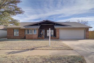 Lubbock TX Single Family Home For Sale: $189,900