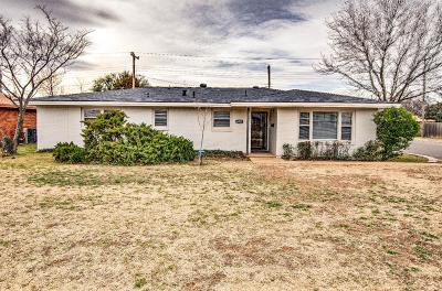 Lubbock Single Family Home Under Contract: 4917 15th Street