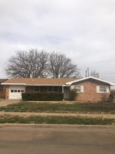 Lubbock Rental For Rent: 5216 14th Street