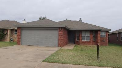 Lubbock Rental For Rent: 1910 81st Street