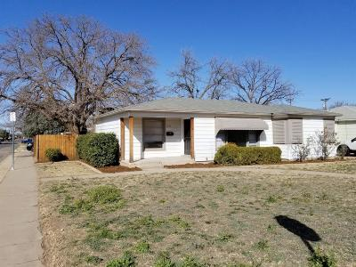Lubbock Single Family Home For Sale: 3720 33rd Street