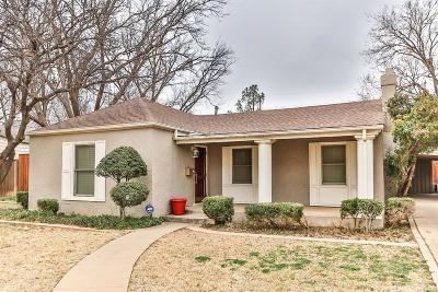 Lubbock Single Family Home For Sale: 3319 21st Street