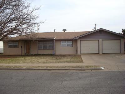 Lubbock Single Family Home For Sale: 4825 11th Street