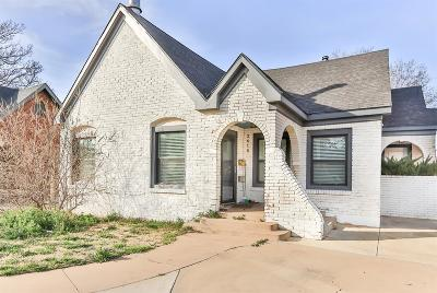 Lubbock Single Family Home For Sale: 2618 22nd Street