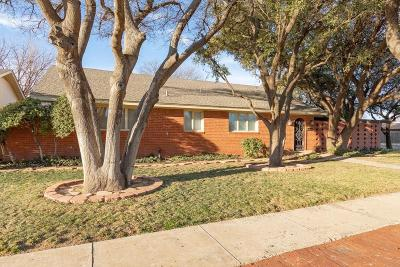 Lubbock Single Family Home For Sale: 3611 Knoxville Drive