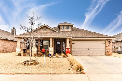 Lubbock Single Family Home For Sale: 7336 100th Street