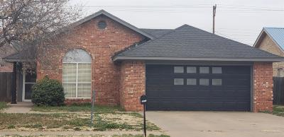 Lubbock Single Family Home For Sale: 2316 91st Street