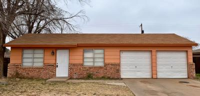Lubbock Single Family Home For Sale: 6418 32nd Street