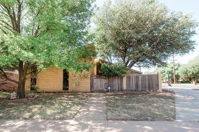 Lubbock Single Family Home For Sale: 4717 76th Street