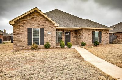 Lubbock Single Family Home For Sale: 4911 Marshall Street