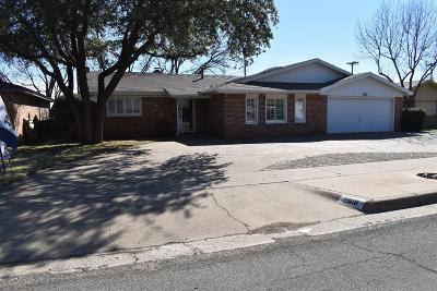 Lubbock Single Family Home For Sale: 2919 69th Street