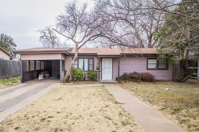 Lubbock Single Family Home For Sale: 2116 47th Street