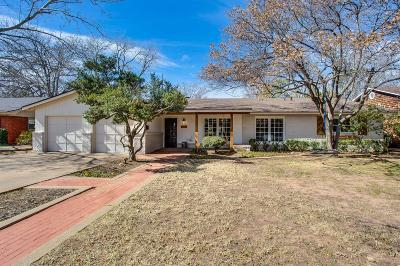 Lubbock Single Family Home For Sale: 5608 Geneva Avenue