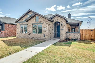 Lubbock TX Single Family Home Under Contract: $209,849