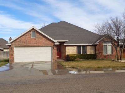 Lubbock Single Family Home For Sale: 5814 94th Street