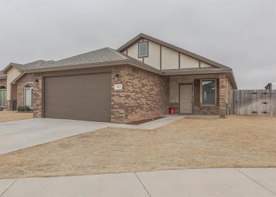 Lubbock Single Family Home For Sale: 7809 86th Street