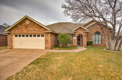 Lubbock Single Family Home For Sale: 6004 78th Street