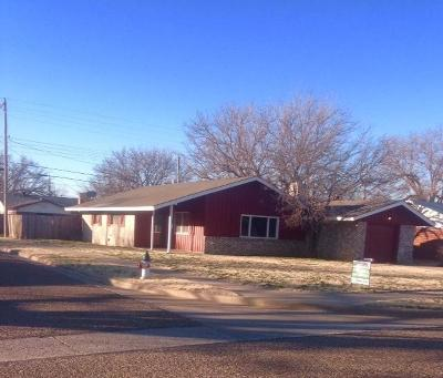 Lubbock Single Family Home For Sale: 5421 45th Street