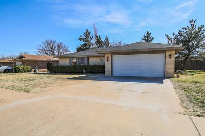 Lubbock Single Family Home For Sale: 3305 88th Street
