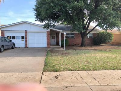 Lubbock Single Family Home For Sale: 5004 52nd Street