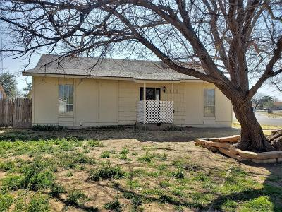 Lubbock Single Family Home For Sale: 2613 91st
