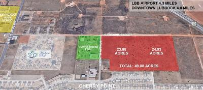 Lubbock County Residential Lots & Land For Sale: 2602 E Erskine