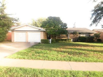 Lubbock TX Rental For Rent: $1,800