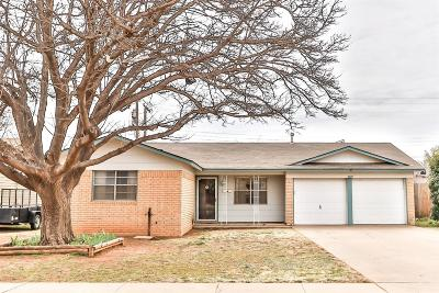 Lubbock County Single Family Home Under Contract: 5419 49th Street