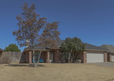 Lubbock Single Family Home For Sale: 3104 105th Street