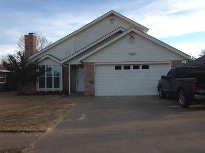 Lubbock TX Single Family Home Under Contract: $159,900