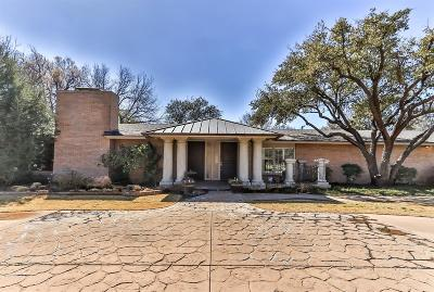 Lubbock Single Family Home For Sale: 4705 21st Street