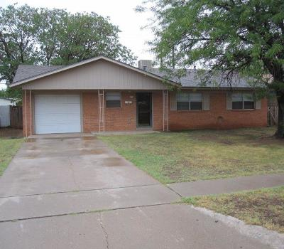 Lubbock County Single Family Home For Sale: 1212 47th Street