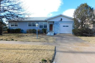 Bailey County, Lamb County Single Family Home For Sale: 226 E Date