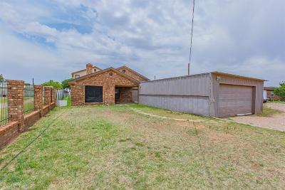 Single Family Home For Sale: 1215 N County Road 1340