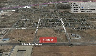 Lubbock Commercial Lots & Land For Sale: 2415 E Broadway