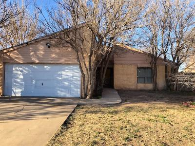 Single Family Home For Sale: 6124 38th Street