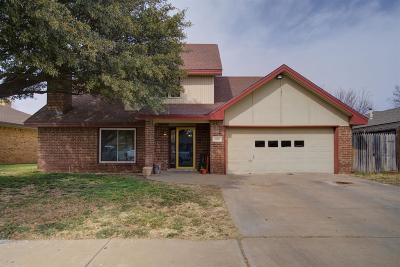 Lubbock TX Single Family Home Under Contract: $179,450