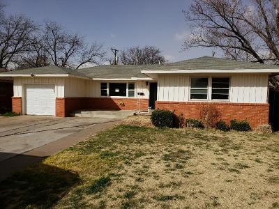 Lubbock County Single Family Home Under Contract: 3108 48th Street