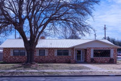 Lubbock TX Single Family Home For Sale: $199,950