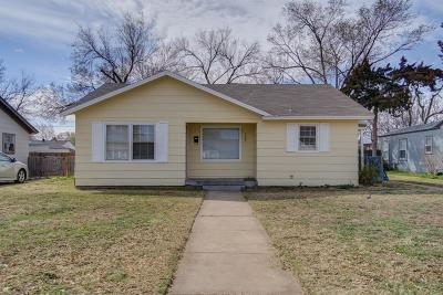 Lubbock County Single Family Home For Sale: 3507 29th Street