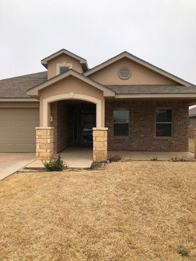 Lubbock TX Single Family Home For Sale: $219,900
