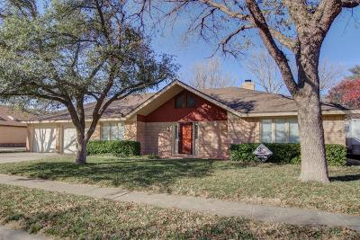 Lubbock TX Single Family Home For Sale: $214,500
