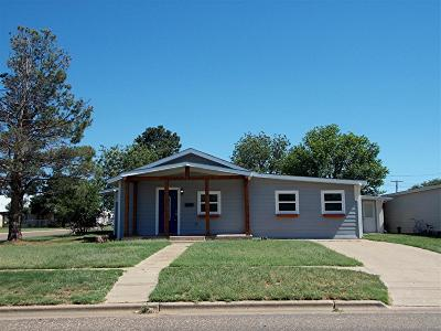 Abernathy Single Family Home For Sale: 712 12th Street