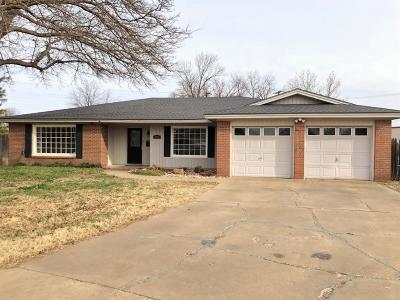 Lubbock TX Single Family Home For Sale: $165,000