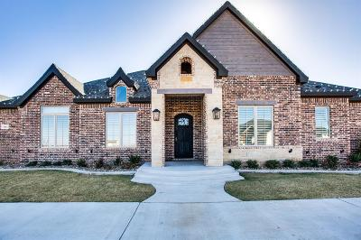 Lubbock Single Family Home For Sale: 3801 140th