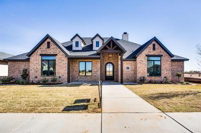 Lubbock Single Family Home Under Contract: 4905 109th Place