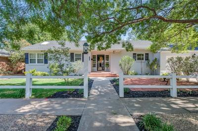 Slaton Single Family Home Under Contract: 1135 W Lubbock Street