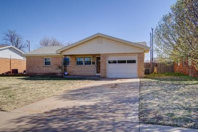Lubbock County Single Family Home Under Contract: 2813 61st Street
